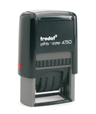 Trodat Printy 4950 stock text stamp