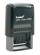 Trodat Printy 4750 stock text stamp