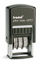Trodat Printy 4850 stock text stamp
